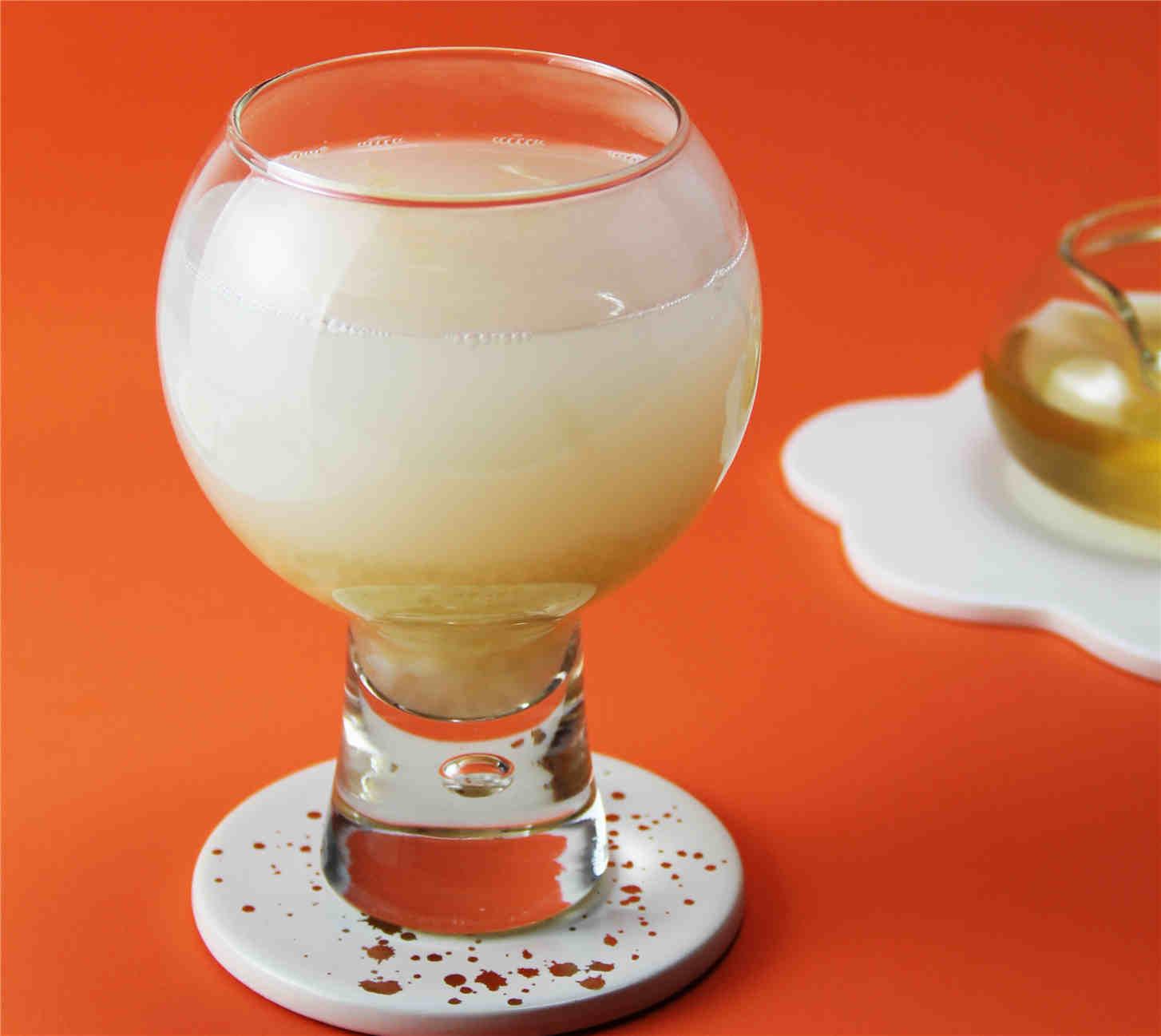 白桃荔枝米酒